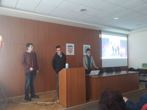 Učenici naše škole osvojili 1. mjesto u natjecanju na međunarodnom projektu AR EDU